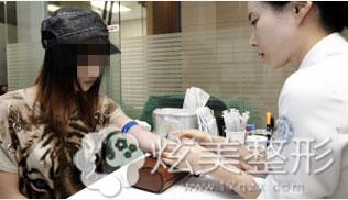 术前充分检查韩国新帝瑞娜整形医院