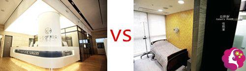 韩国梦线和德新整形医院对比